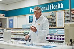 No one runs a pharmacy as efficiently as he does