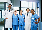 By working together, medical professionals support each other