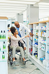 The wheelchair friendly pharmacy