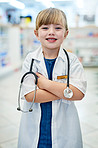 When I'm big I want to be a pharmacist