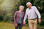 Strolling through retirement without a care in the world