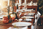 Keep your table setting simple and clean