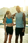 Exercising together has granted us a healthier relationship as well