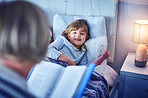 Nothing encourages sleep like a bedtime story