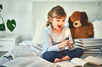 Reading helps boost a kid's thinking skills