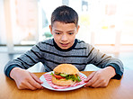 Growing boys have the biggest appetite