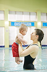 Grow your child's confidence with swimming lessons