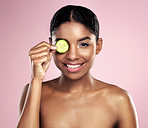 Cucumbers can be used for all kinds of skin problems