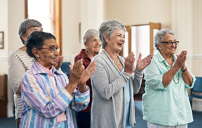 Buy stock photo Shot of a senior woman in a retirement home