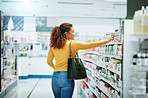 The store that keeps her in good health