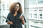 She runs her workday with mobile apps
