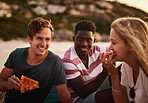 Nothing goes better together than pizza and friends