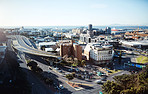 The busy city of Cape Town
