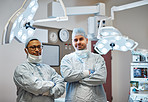 Double the surgical expertise in this operating room