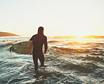 Surfing is the best way to feel young, wild and free