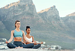 Yoga is a way to call for calm