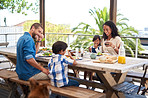Meals always taste better when enjoyed with family