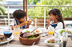 Growing bodies need lots of healthy meals