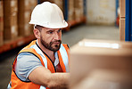 Managing a warehouse demands focus
