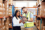 Warehouse management is all about accuracy and efficiency
