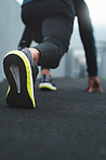 The aim is to beat your excuses in this race