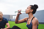 It's vital to replenish your energy  while working out