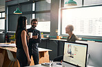 Coffee and conversations to get our busy day started
