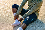 Proper running shoes can help you to prevent an injury