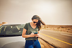The roadside assistance app that's got her covered