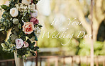 For your big day