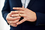 Wedding rings are symbols of commitment, promise and loyalty