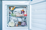 Freezing your food prevents wastage