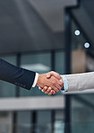Strong handshake for a strong partnership