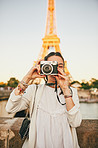 Snapping away in the wonderful city of Paris