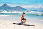 Fit and flexible thanks to yoga