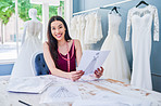 Let me design your wedding dress