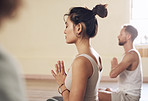 Yoga helps put our minds at ease