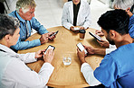 One more thing about doctors - they're always connected
