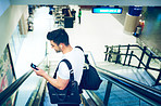 Navigating the airport with one smart app