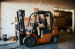 Every warehouse needs a forklift