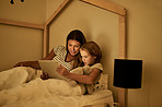 Incorporating tech into their bedtime routine