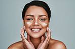 I moisturize because I love what it does to my skin