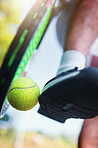 Grab a racket and ball and get playing