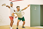 Alert the press, the squash superstars have arrived