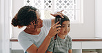 Every mom is a hairstylist