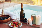 Strawberries and champagne go hand-in-hand