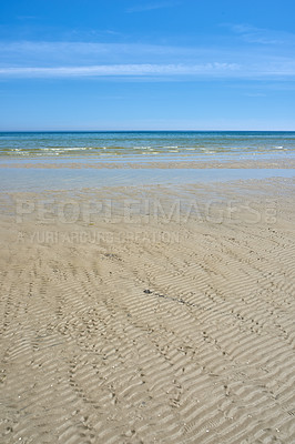 Buy stock photo A calm day by the coast
