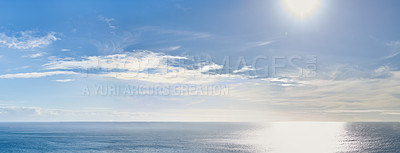 Buy stock photo A photo of a calm sea