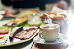 No hearty breakfast is complete without a good cup of tea