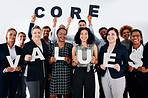 Our core values represent who we are as a committed team